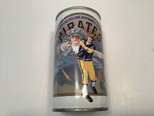 New listing Vintage Pirates steel beer can with pull tab bottom open Iron City 1979 champion