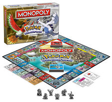 Pokemon Johto Edition Monopoly Game New Sealed