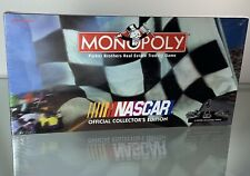 NASCAR Monoploy NIB Game Parker Brothers 1997 Collectors Edition New Sealed