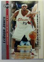 2003 03-04 Upper Deck Phenomenal Beginning LeBron James Rookie RC #19, Cavs MVP