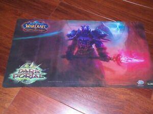 x1 World of Warcraft TCG Through the Dark Portal Play Mat UD TexasNerdGames