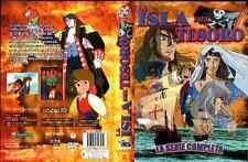 La Isla Del Tesoro: La Serie Completa, En Español Latino (4-DVD SET)