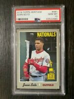 2019 Topps Heritage Juan Soto SP #481 All-Star Rookie Nationals PSA 10 RARE