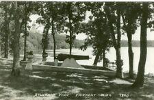 Fairmont MN The Cannon in Sylvania Park 1928 RPPC  7890