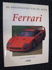 Rebo Book De geschiedenis van de auto, Ferrari, Godfrey Eaton (Nederlands)