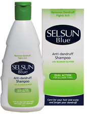Selsun Blue Anti-Dandruff Dual Action Shampoo All Hair Types FREE SHIPPING