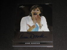 ANNE DONOVAN LEAF CERTIFIED AUTHENTIC HAND SIGNED AUTOGRAPHED BASKETBALL CARD
