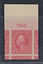 US Stamp #482 Graded: 100J Gem MNH OG From 5c Error Sheet w/PSE Cert.