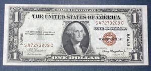 1935a $1 Hawaii Silver Certificate  XF/AU