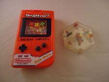 Nintendo Game Boy Red Shampoo Bottle (EMPTY) Bath Game + NES Mario Water Toy
