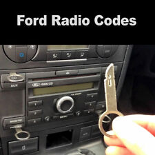 Ford Radio Code V & M Serial Focus Fiesta KA Mondeo Transit Fast Service