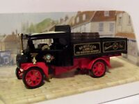 MATCHBOX MODELS OF YESTERYEAR 1922 FODEN STEAM WAGON MCMULLEN BREWERY 1/72 Y27B