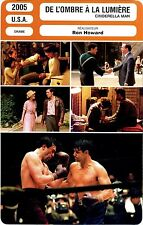 Movie Card. Fiche Cinéma. De l'ombre à la lumière. Cinderella man (U.S.A.) 2005
