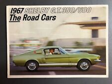 1967 Ford Shelby GT 350 / 500 Showroom Advertising Sales Folder / Brochure RARE!