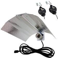 CFL Wing Reflector Lamp Hydroponics Light grow tent +Yoyo hanger E27 HPS HID