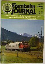 Eisenbahn Journal 4/1985 Junio, Recuerdos an el Serie 95