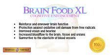 Brain Food XL - Cognitive Enhancement Supplement - 1 Month Supply (30 pills)