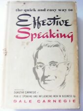 The Quick and Easy Way to Effective Speaking by Dale Carnegie store#4285