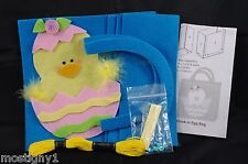 Kids Crafts – Easy Sew Felt Easter Bag Craft Kit (Makes 1) - Chick  - Plus Bonus