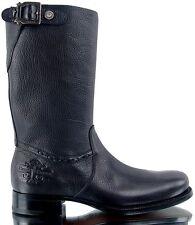 Authentic Cesare Paciotti US 7 Deer Skin Leather Boots Italian Designer Shoes