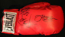 ken norton, larry holmes,roberto duran signed boxing glove with coa online