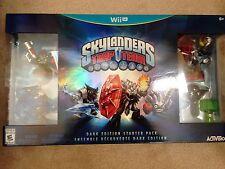 Skylanders Trap Team Starter Set Dark Edition Wii U Ultimate Kaos Trap Chaos