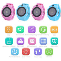 Smart Watch GPS SOS Call Activity Tracker Phone Watch Anti-Lost For Child Kids