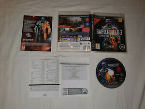 jeu sony playstation 3 ps3 occasion BATTLEFIELD 3 LIMITED EDITION