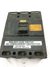 USED CUTLER HAMMER Westinghouse LA3600 3 Pole 600Amp 600Vac CIRCUIT BREAKER B329
