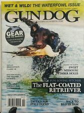 Gun Dog October 2016 The Flat Coated Retriever Waterfowl Issue Free Shipping sb