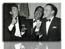 Wall Art Canvas Picture Print of Rat Pack & Frank Sinatra Ready to Hang