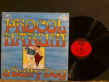 PROCOL HARUM  A Salty Dog  LP   Textured sleeve   GREAT !!
