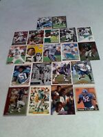 *****Bryan Cox*****  Lot of 40 cards.....33 DIFFERENT / Football