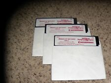 "Heroes of the Lance IBM PC Game 5.25"" disks Mint"