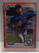 Brailyn Marquez 2020 Bowman Red Shimmer Refractor #1/5 Prospect RC Cubs