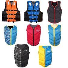Life Jacket Vest Kayak Buoyancy Swimming Fishing Drifting Adult Youth Floating