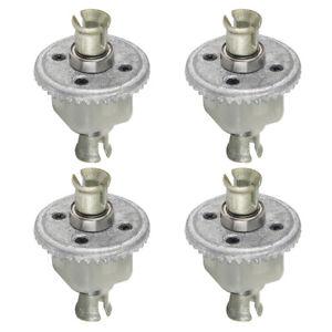 4Pcs 1:10 Scale RC Metal Differential For XLH 9125 Car Toys Model Kits Parts