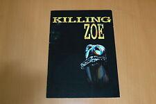 ERIC STOLTZ JEAN-HUGUES ANGLADE JULIE DELPY KILLING ZOE 1994 RARE PRESS BOOK