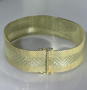 Armband 585 Gold Top Massiv