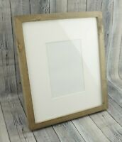 🔥POTTERY BARN Rustic Wood Gallery Single Opening Frame 5x7 Gray #17195🔥