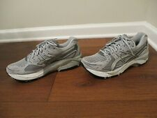 Lightly Used Worn Size 12 Asics Gel Evolution 6 Shoes Gray Silver White Black