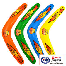BOOMERANG toy kids frisbee outdoor beach catch game flying disc Australian