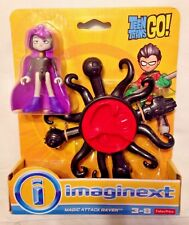 NEW! Imaginext TEEN TITANS GO Raven Magic Attack w/ Tentacles Power Pad ages 3-8