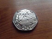 1992/1993 Elizabeth II-Presidencia del Reino Unido de la moneda conmemorativa 50p copia CE -