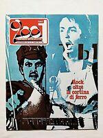 RARE CIAO 2001 37-1976 +POSTER YES-AMANDA LEAR-DEEP PURPLE-ROGER DEAN-MC CARTNEY