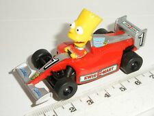 MICRO Scalextric - F1 Bart Simpson Grand Prix Car - Mint Cdn