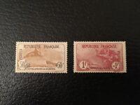 AVO ! [1217] FRANCE orphelin timbres n°153 154 1 franc + 1 franc Marseillaise *