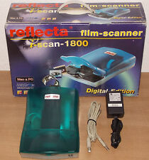 Reflecta iScan 1800 PHOTO SCANNER PIANO diascanner film SCANNER SCANNER FOTO