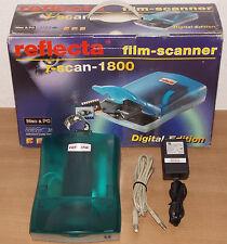 Reflecta iscan 1800 PHOTO Flachbettscanner Diascanner Filmscanner Fotoscanner