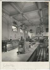 Harold Haliday Costain Vintage Signed 11 x 14 Photo Bank Interior New York 1945